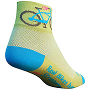 SockGuy Streamers Womens Socks 2013